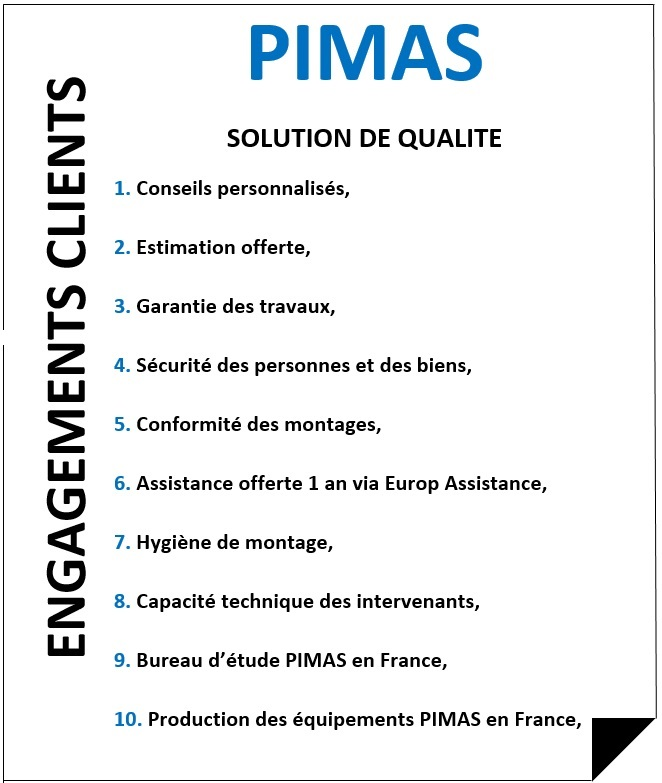 Engagements clients Pimas Dijon Automobile